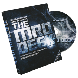 The MRD Deck Red (DVD and Gimmick) by Big Blind